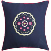 Spun Threads with a Soul Pink Sunrise Decorative Pillow