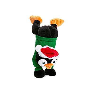 twerking dancing plush penguin christmas animated holiday handstand character indoor decorations toy - Christmas Animated Decorations