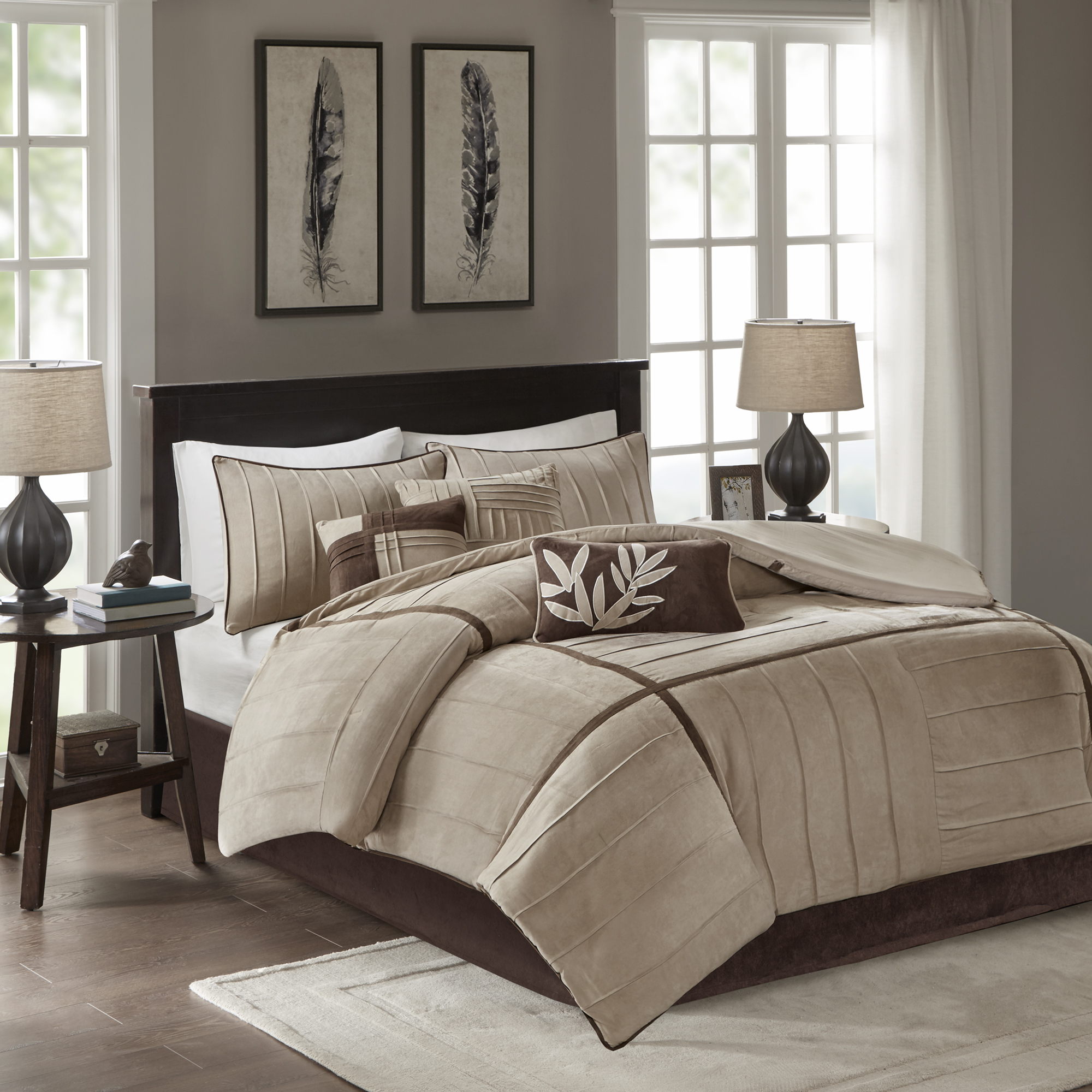 Home Essence Connell 7 Piece Comforter Set