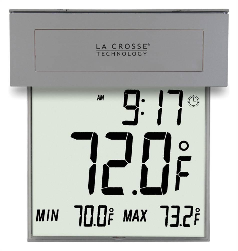 La Crosse Solar Window Outdoor Thermometer by La Crosse Technology