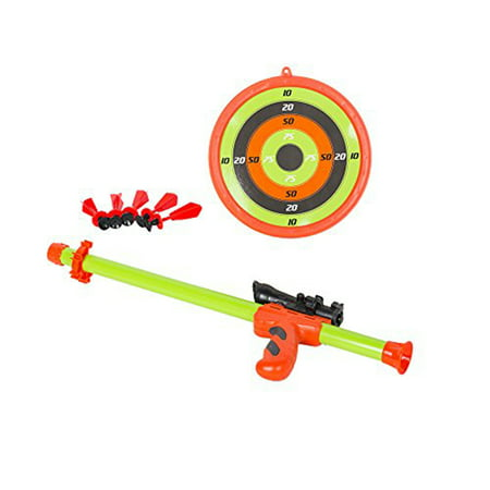KARMAS PRODUCT Infrared Laser Shooting Toy Gun Shooting Target Disc Toy Gun - Disc Gun