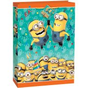 (3 Pack) Jumbo Despicable Me Minions Gift Bag](Minion Gift Bags)