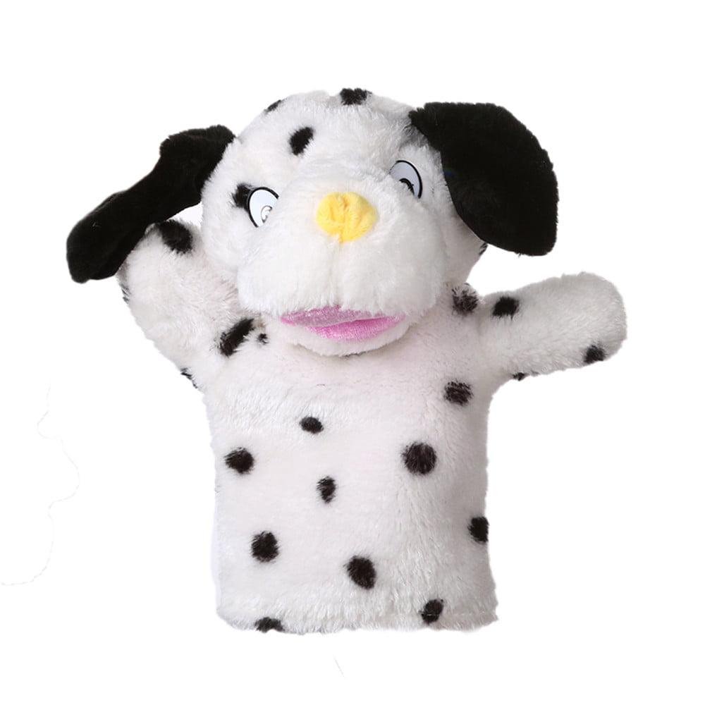 Mosunx Cute Cartoon Animal Doll Kids Glove Hand Puppet Soft Plush Toys Story Telling D