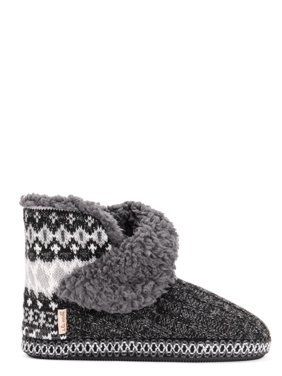 Muk Luks A La Mode Women's Short Bootie Slipper