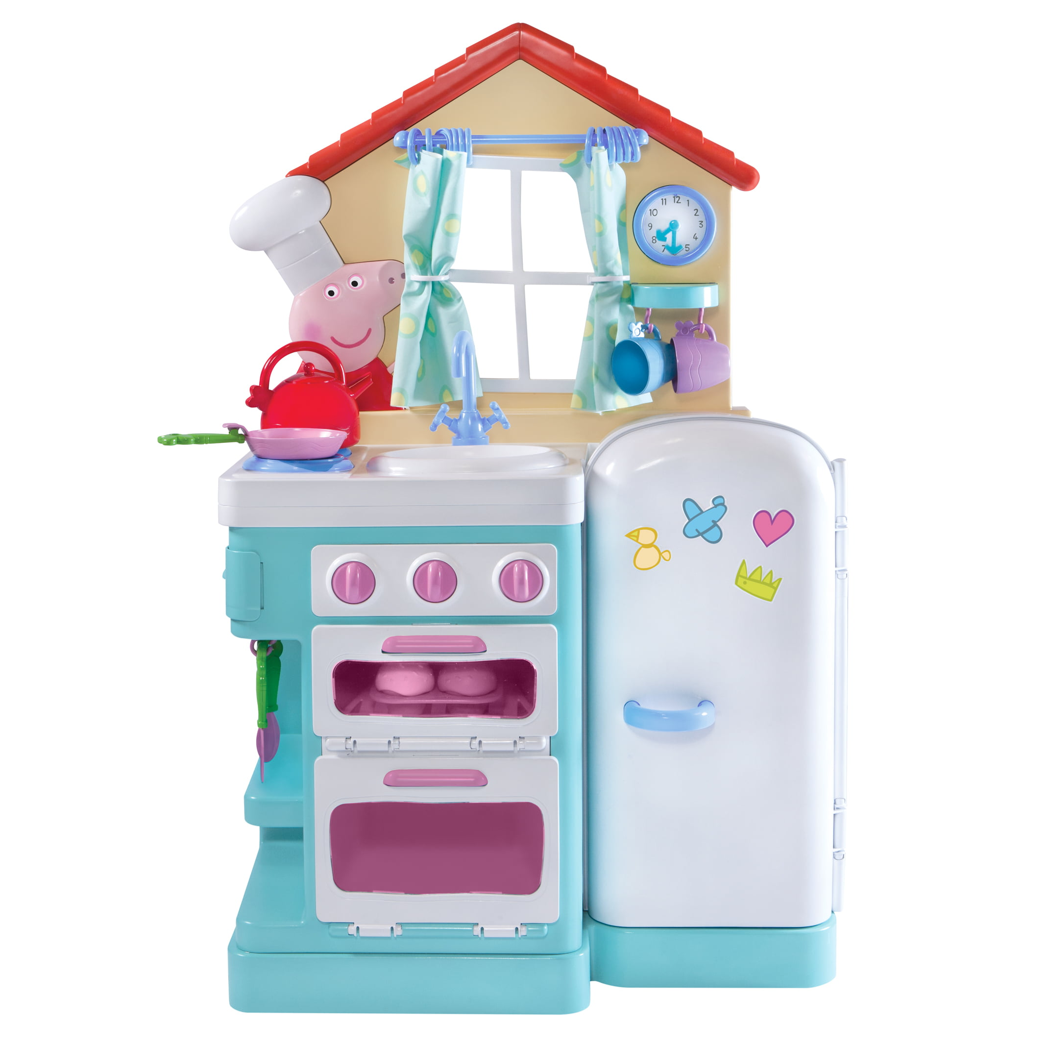 Peppa Pig\'s Little Kitchen with Bonus Apron - Walmart.com