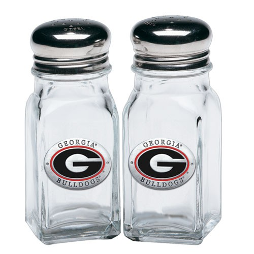 Georgia Bulldogs Salt and Pepper Shaker Set
