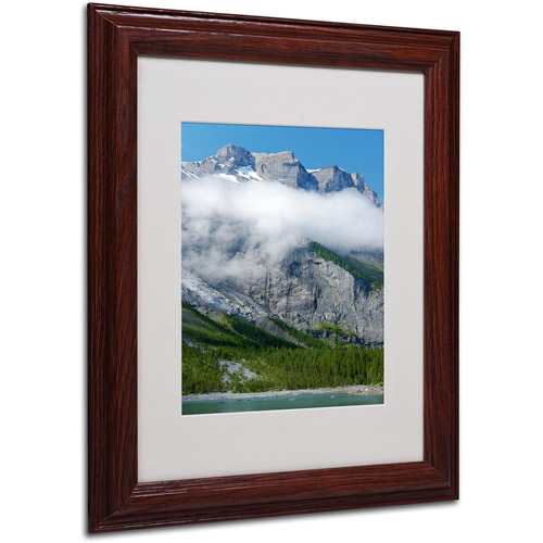 "Trademark Fine Art ""Last Call Switzerland II"" Canvas Art by Philippe Sainte-Laudy, Wood Frame"