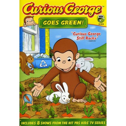 Curious George: Goes Green! (Full Frame)