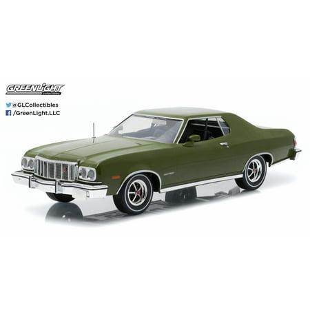 1:18 Artisan Collection - 1976 Ford Gran Torino - Dark Green Metallic