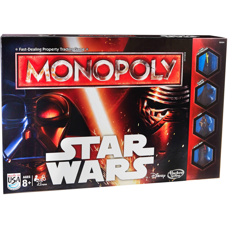 Monopoly Game Star Wars Walmart