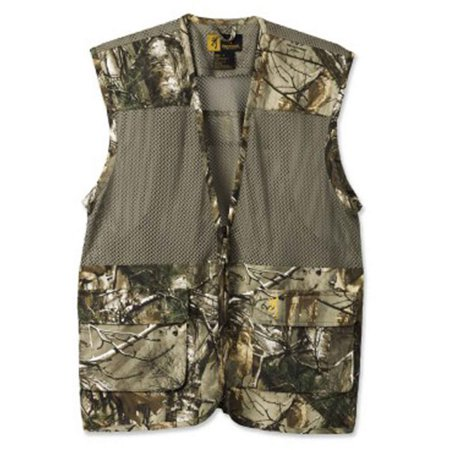 Browning Mesh Vest - browning 30510324-xl men's realtree xtra dove vest solid/mesh - size x-large