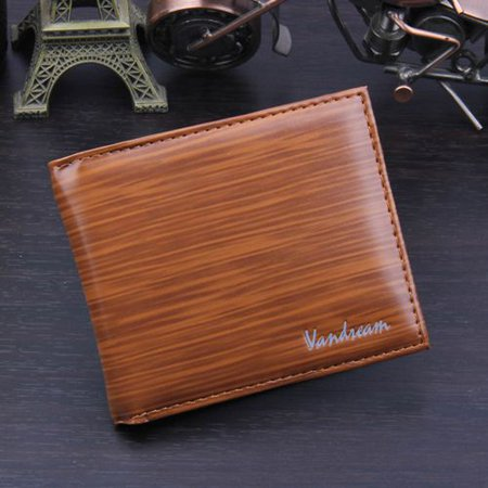 Fancyleo Men's Bifold Leather PU Credit ID Card Holder Wallet Billfold Purse Clutch Billfold Billfold Credit Card Holders