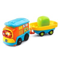 c06442db2 Product Image VTech Go! Go! Smart Wheels Motorized Freight Train with Cargo  Car