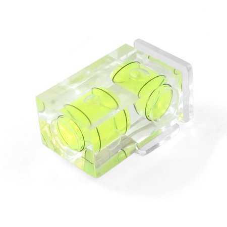 Digital Cameras Hot Shoe - Hot Shoe Two Axis Double Bubble Spirit Level For Sony Alpha & Minolta Maxxum Digital and Film Cameras, Spirit Level / Bubble Level for Camera's Hot Shoe By Polaroid,USA