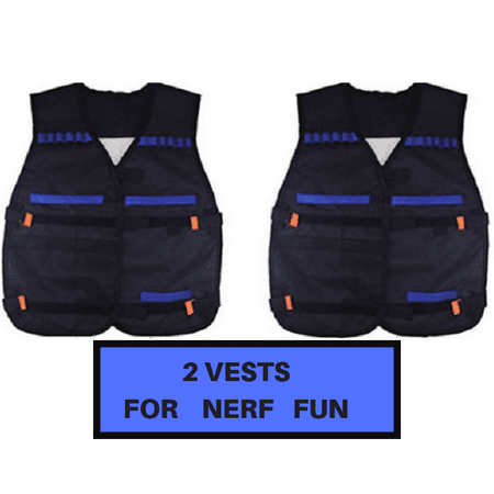 2 Nerf Vest for Kids, compatible with all Nerf Guns. thumbnail