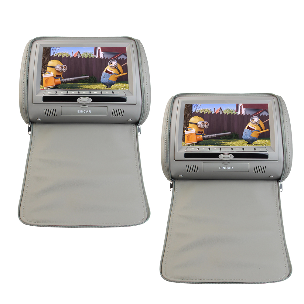 7 inch LCD Monitor Car Headrest Sold As 1 Pair or Car dvd...