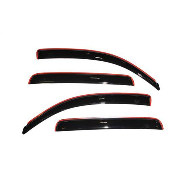 194056 2005-2015 Toyota Tacoma In-Channel Ventvisor Rainguard - Smoke