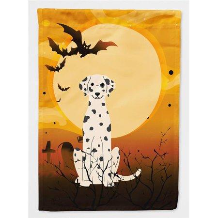 Carolines Treasures BB4363CHF Halloween Dalmatian Flag Canvas House Size - image 1 of 1