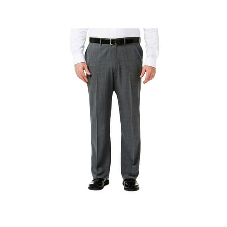 Haggar Big & Tall Travel Performance Suit Separate Pant Classic Fit HY90267