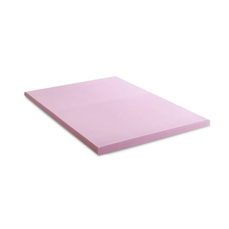 Lucid® Revive Lavender and Aloe Memory Foam Topper 2, 3, 4 Inch
