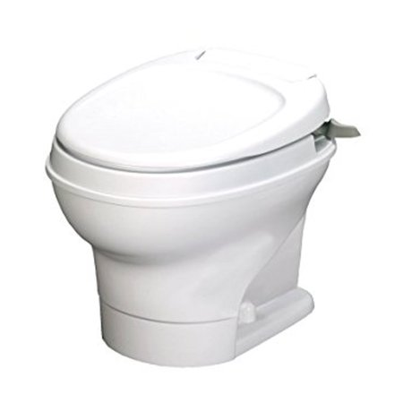 Thetford 31646 Aqua Magic Permanent Low Profile Hand Flush Toilet -