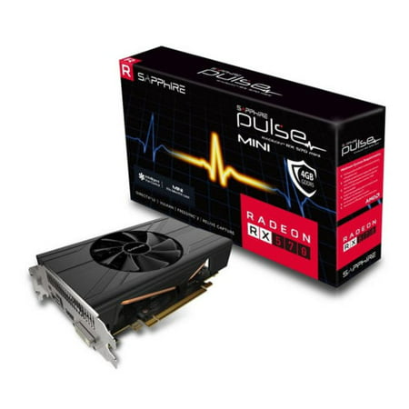 Sapphire 11266-36-20G PULSE AMD Radeon RX 570 8G GDDR5 DVI/2HDMI/2DisplayPort PCI-Express Video Card Gaming Bundle Included ()