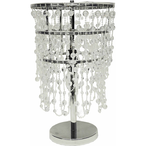 Your Zone Translucent Beaded Table Lamp