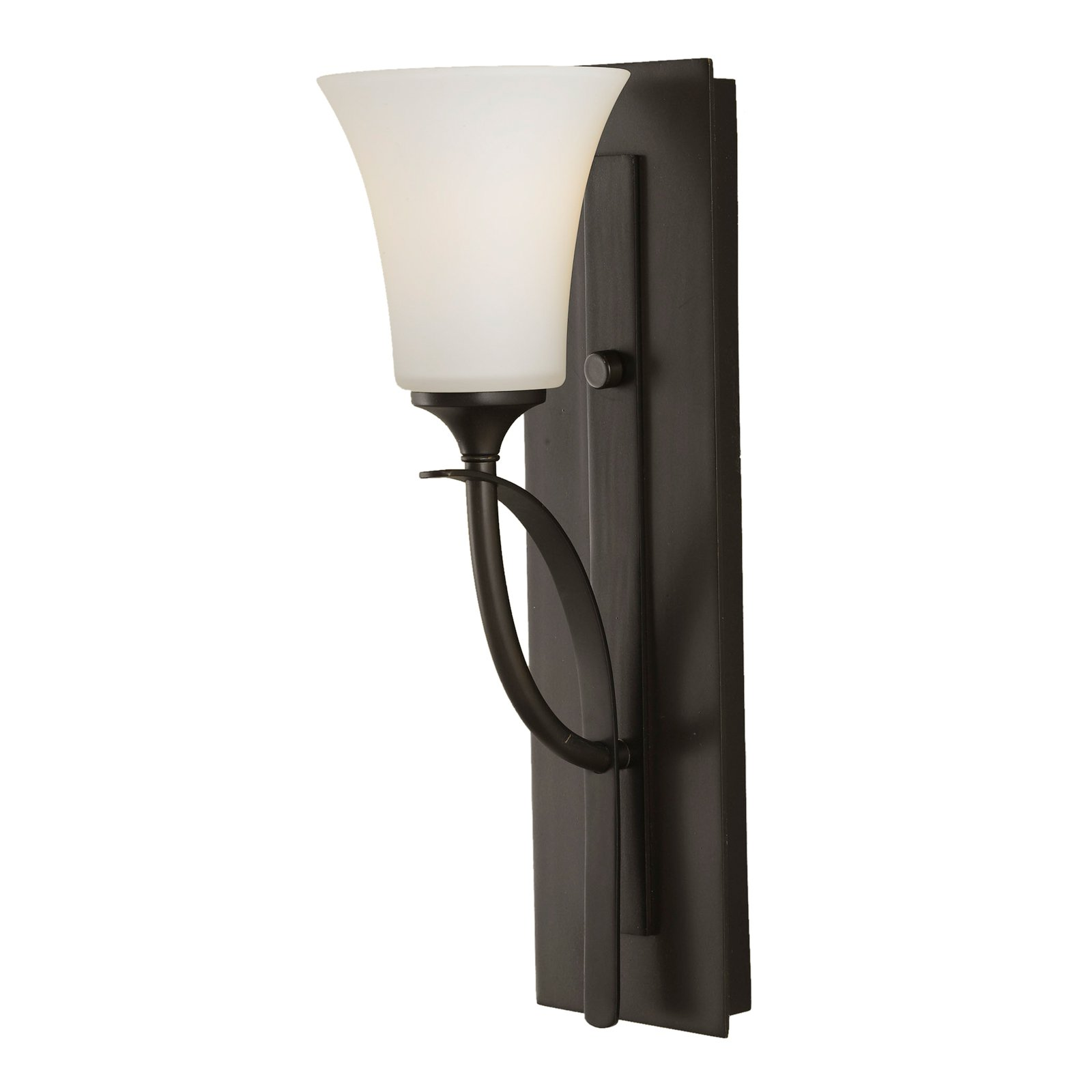 Feiss Barrington Bathroom Sconce 5W in. Oil Rubbed Bronze by Murray Feiss