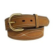 G-Bar-D Western Belt Mens Harness Buckle Lati Stitch Rust 5103500