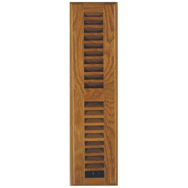 Imperial Manufacturing RG2240 2.25 x 12 in. Light Oak Louvered Floor Register - image 1 of 1