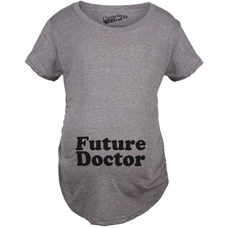 5552d6b28 Crazy Dog T-Shirts - Crazy Dog TShirts - Maternity Future Doctor Funny  Pregnancy Tees Im Pregnant Announcement T shirt - Walmart.com