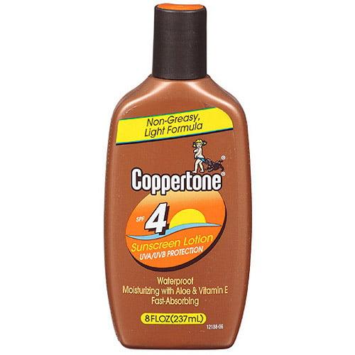 upc 041100041432 coppertone tanning lotion sunscreen