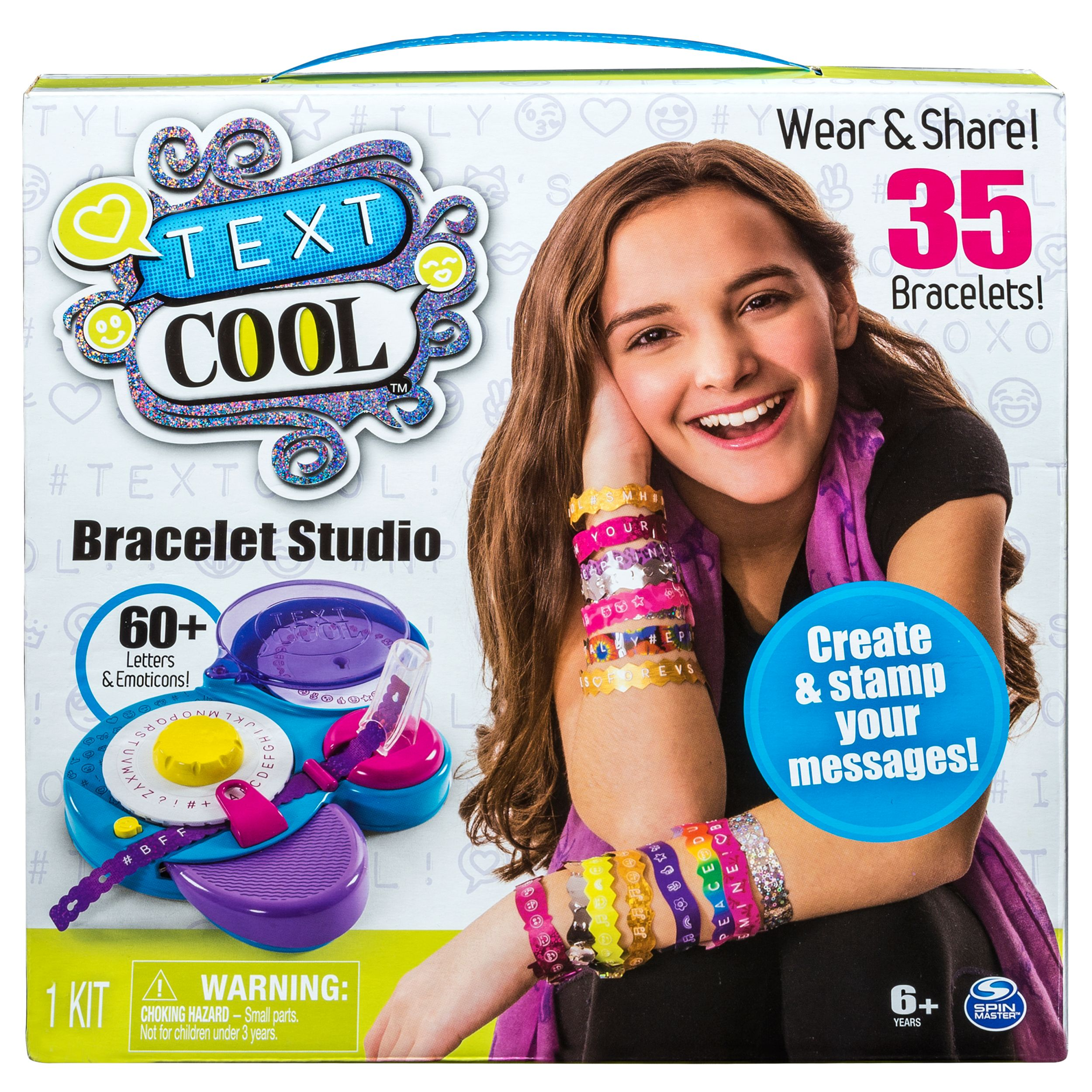 Text Cool, Bracelet Studio
