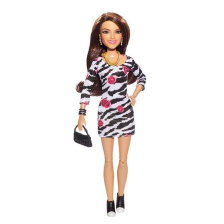 Tori Spelling Necklace - Victorious - Tori Doll Zebra Print Dress By Nickelodeon