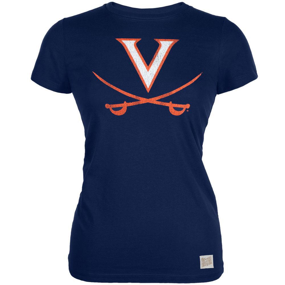 Virginia Cavaliers - Crossed Swords Vintage Juniors T-Shirt