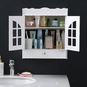 Ktaxon Wall Mount Bathroom Cabinet Storage Organizer Medicine Cabinet Kitchen Laundr