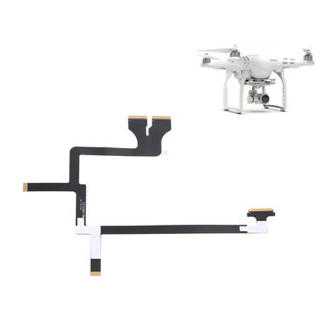 Keypad Ribbon Flex Cable Connector (Hight Quality Flexible Gimbal Flat Ribbon Flex Cable Part 49 For DJI Phantom 3 Pro And Adv NEW )