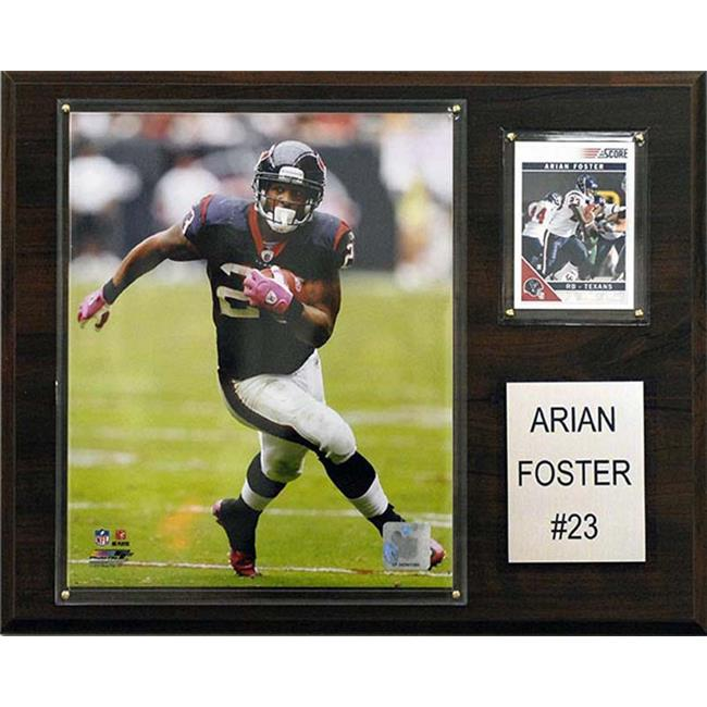 CandICollectables 1215AFOSTER NFL 12 x 15 in. Arian Foster Houston Texans Player Plaque - image 1 de 1