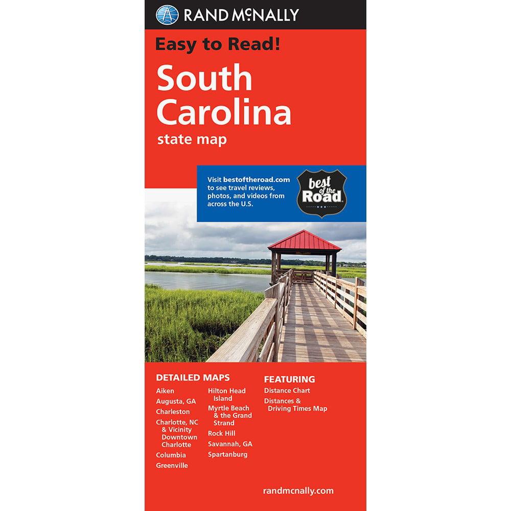 Easy To Read South Carolina