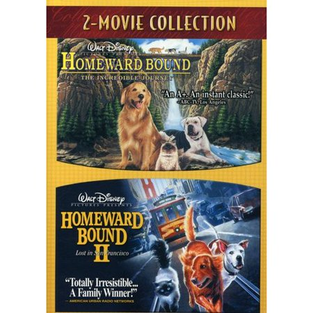 Homeward Bound  The Incredible Journey   Homeward Bound Ii  Lost In San Francisco  Double Feature