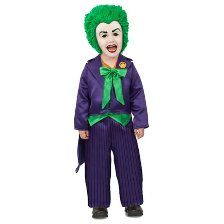 Toddler Dc Batman Comics Toddler Joker Costume (Dc Comics Batman Costume)