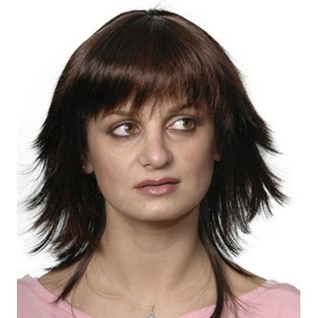 Fashion women medium straight Reese wig - Reese Pieces Halloween Size