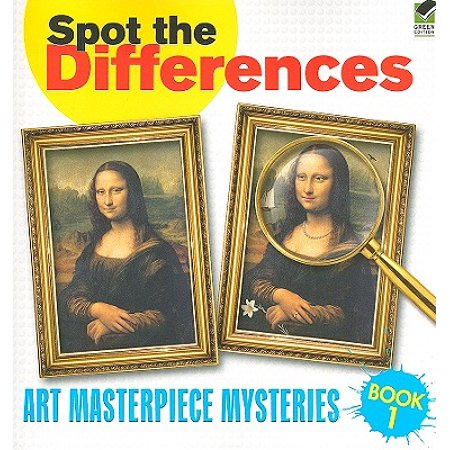 Spot the Differences Book 1 : Art Masterpiece Mysteries for $<!---->