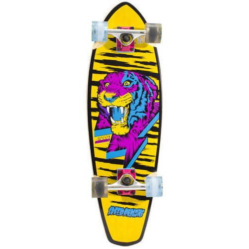"""Speed Demons 29"""" Cruiser Board Complete Skateboard, 29"""" x 9"""" by"""