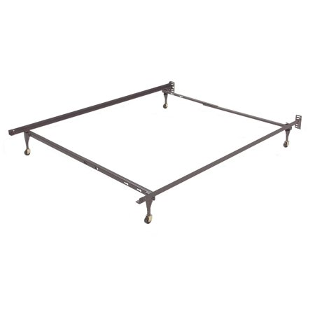 Sentry Bed Frame With Casters Size Twin Full