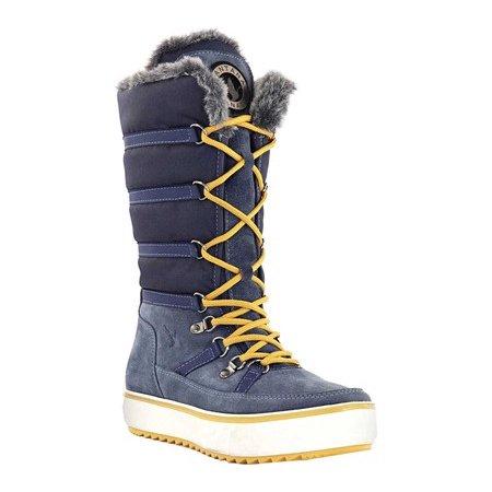 Women's Santana Canada Mackenzie2 Tall Boot Blue Nylon/Suede 7 M - image 3 of 6