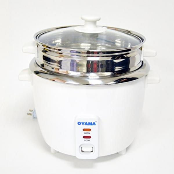 oyama stainless 16 cup cooked 8 cup uncooked rice cooker stainless steel inner pot