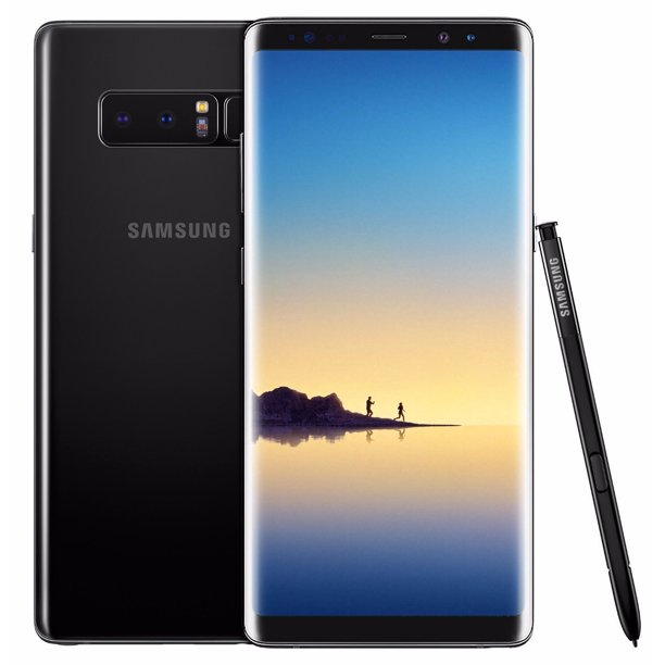Refurbished Samsung Galaxy Note 8 - 64GB Verizon + GSM Unlocked AT&T T-Mobile - Black