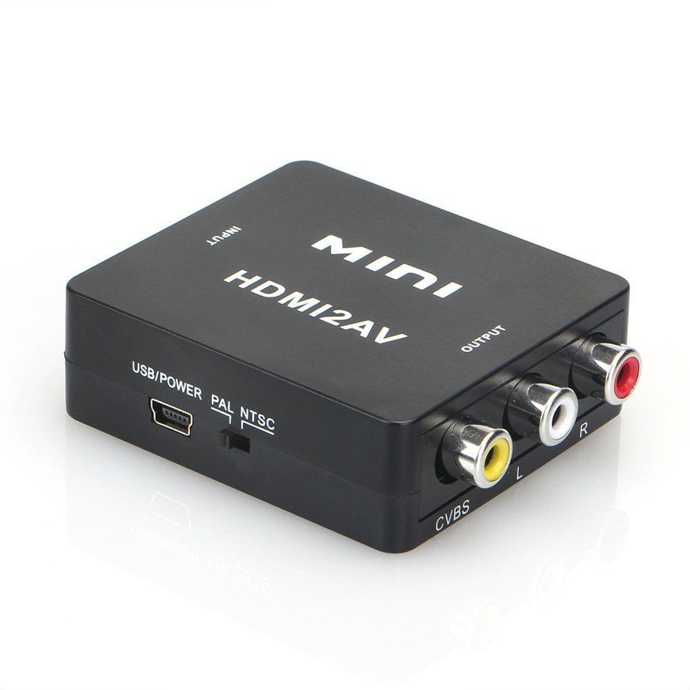 Megulla 1080p HDMI to AV RCA Composite Video Audio Mini C...