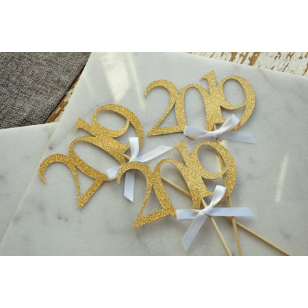 2019 Graduation Centerpiece Sticks with Bows. Crafted in 1-3 Business Days. Graduation Centerpiece Ideas. 3 Gold 2019 Wands with White Bows.](Masquerade Themed Centerpieces)